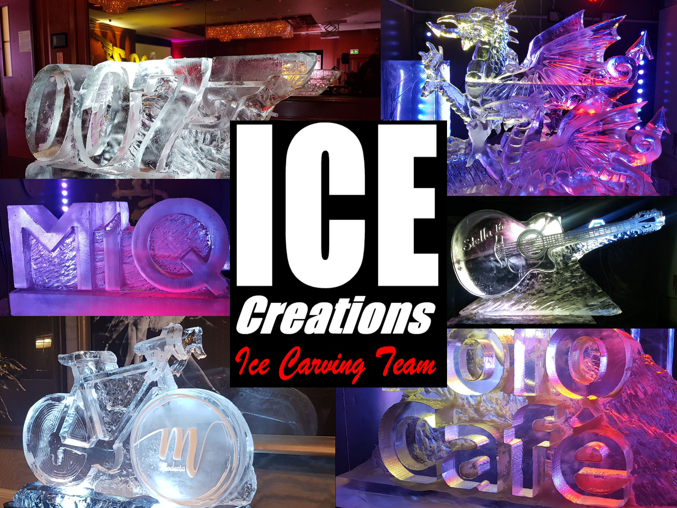 Ice Sculptures at Weddings